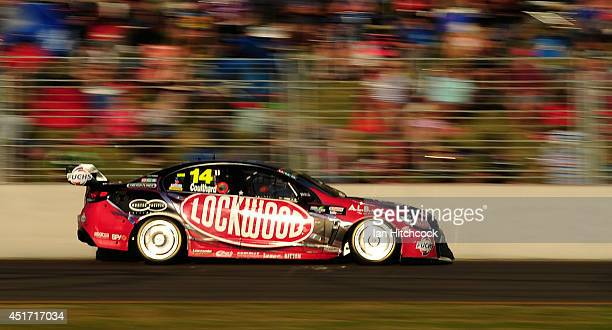 Fabian Coulthard drives the Lockwood Racing Holden during race 21 for the Townsville 500 which is round seven of the V8 Supercar Championship Series...