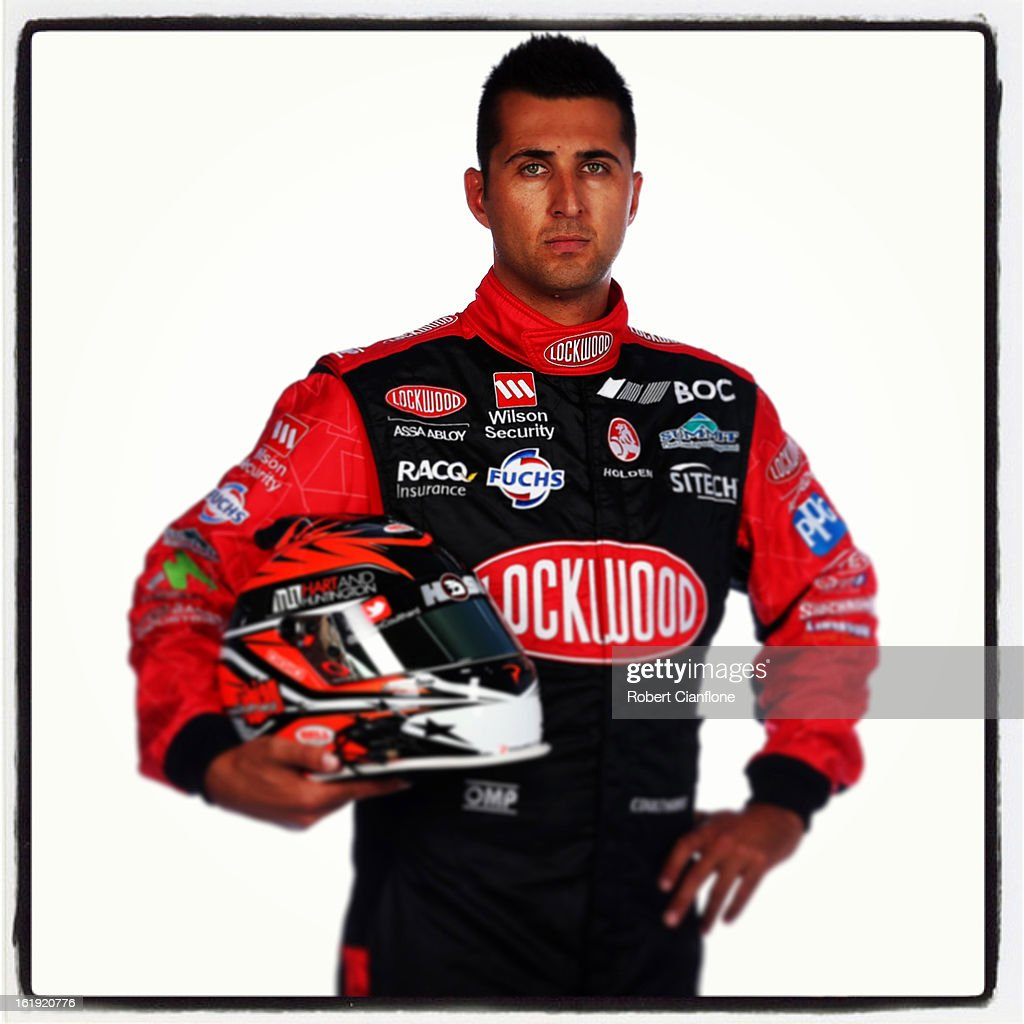 Fabian Coulthard of Brad Jones Racing poses during a V8 Supercars driver portrait session at Eastern Creek on February 15, 2013 in Sydney, Australia.