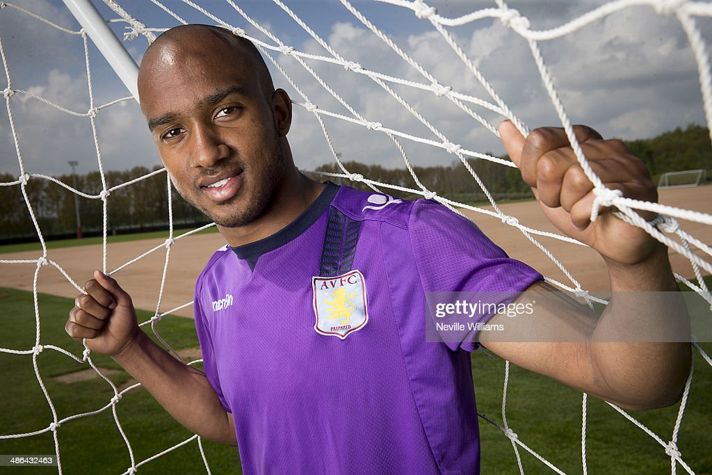 <a gi-track='captionPersonalityLinkClicked' href=/galleries/search?phrase=Fabian+Delph&family=editorial&specificpeople=5443479 ng-click='$event.stopPropagation()'>Fabian Delph</a> of Aston Villa poses for a picture at the club's training ground at Bodymoor Heath on April 24, 2014 in Birmingham, England.
