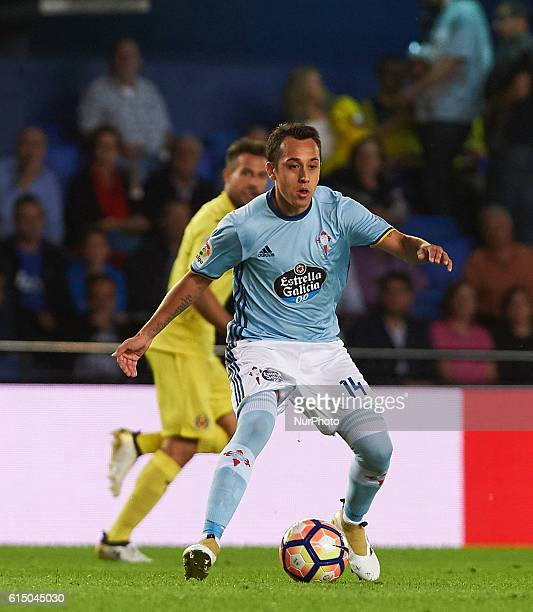 Fabian Orellana of Celta Vigo during the La Liga match between Villarreal CF vs Celta de Vigo at Estadio El Madrigal on october 16 2016