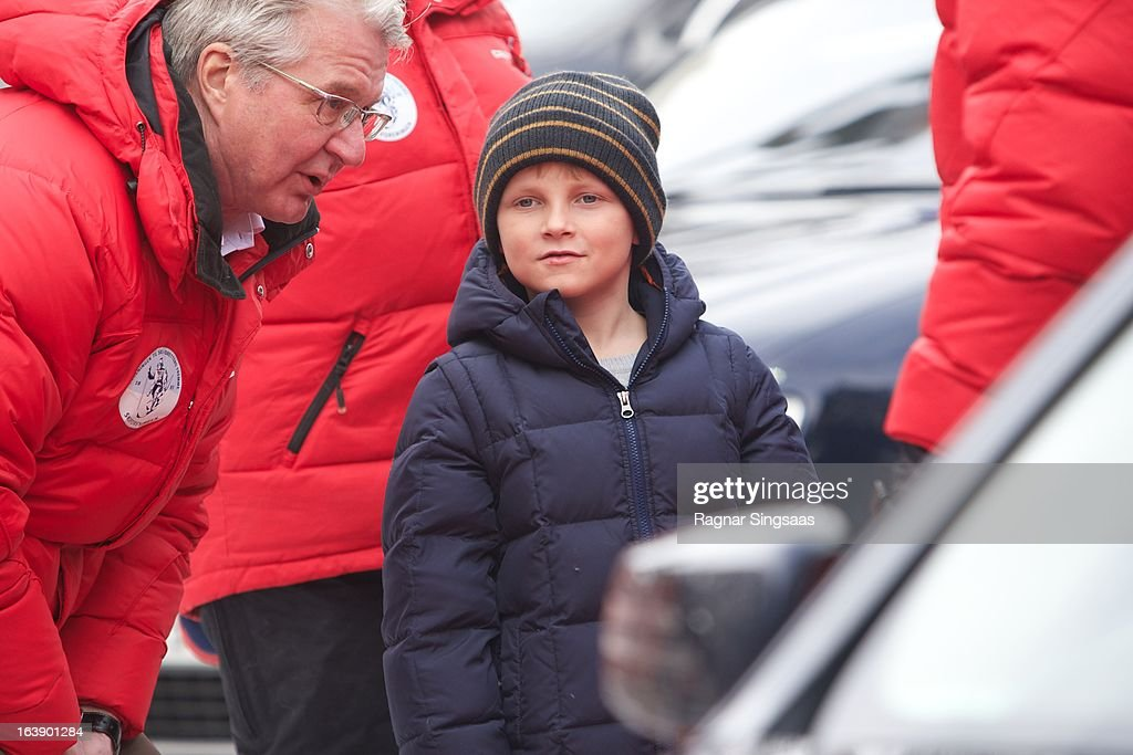 <a gi-track='captionPersonalityLinkClicked' href=/galleries/search?phrase=Fabian+Stang&family=editorial&specificpeople=4669058 ng-click='$event.stopPropagation()'>Fabian Stang</a> and Prince Sverre Magnus of Norway attend FIS World Cup Nordic Holmenkollen 2013 on March 17, 2013 in Oslo, Norway.
