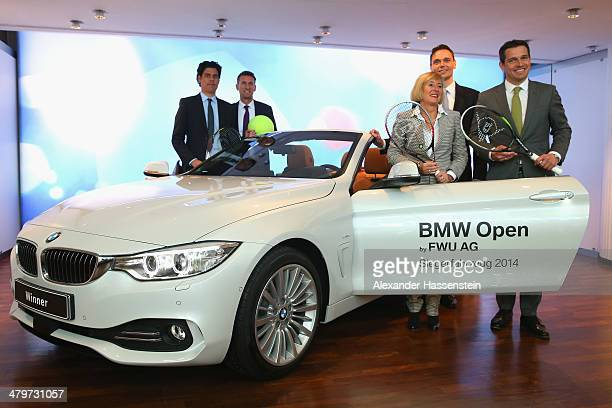 Fabian Tross General Manager of Iphitos Patrik Kuehnen Turnament Director of BMW Open by FWU AG Angela S Dirrheimer Member of the Board FWU AG Roland...