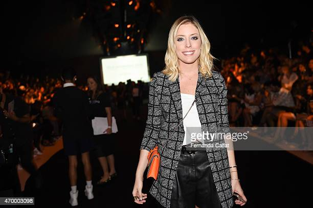 Fabiana Justus attends GIG Couture Front Row at SPFW Summer 2016 at Parque Candido Portinari on April 16 2015 in Sao Paulo Brazil