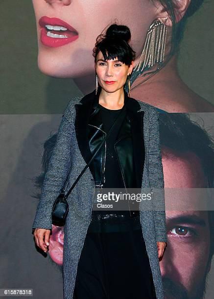 Fabiana Perzabal attends La Vida Inmoral De La Pareja Ideal premiere and red carpet at Teatro Metropolitano on October 19 2016 in Mexico City Mexico