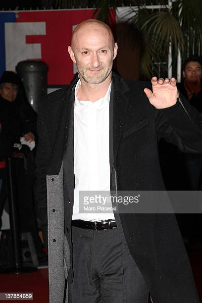Fabien Barthez arrives for the NRJ Music Awards 2012 at Palais des Festivals on January 28 2012 in Cannes France