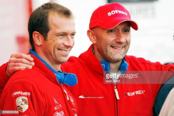 Fabien BARTHEZ et Anthony BELTOISE engage en Porsche Carrera Cup Team SOFREV ASP Course auto Super Serie FFSA saison 2008 Circuit Paul Armagnac de...