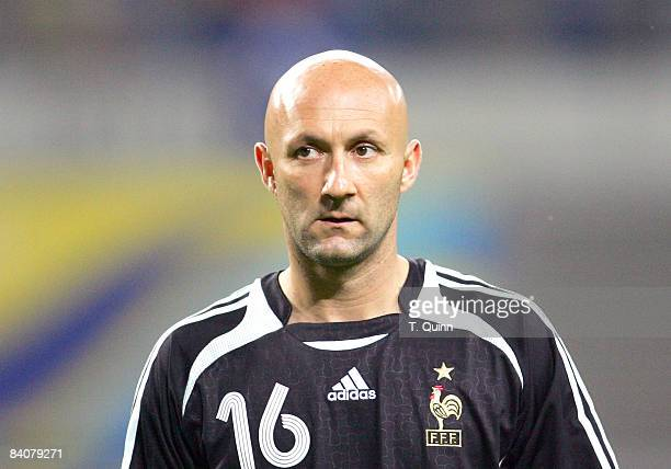 Fabien Barthez of France In the Centralstadium Leipzig Korea Reublic came from behind to tie France 11 On June 18 2006
