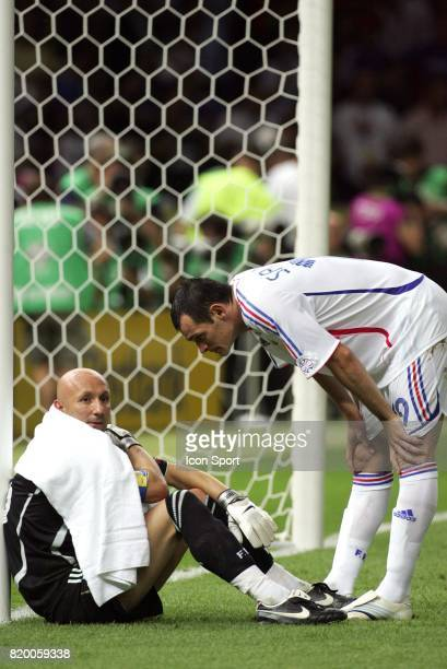 Fabien BARTHEZ / Willy SAGNOL France / Italie Finale Coupe du Monde 2006 Berlin Allemagne