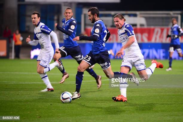 Fabien CAMUS / Mehdi MOSTEFA SBAA Troyes / Bastia 18eme journee de Ligue 1 Photo Dave Winter / Icon Sport