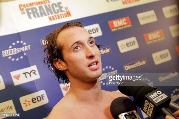 Fabien GILOT 100m NL Championnats de France de Natation en Petit Bassin 2010 Chartres