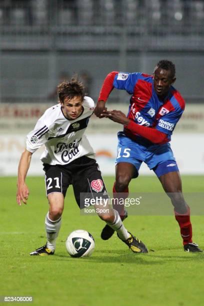 Fabien JARSALE / Amara BABY Vannes / Chateauroux 10eme journee de Ligue 2