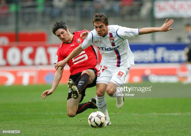 Fabien LEMOINE / Anthony MOUNIER Rennes / Lyon 8e journee Ligue 1 Photo Dave Winter / Icon Sport