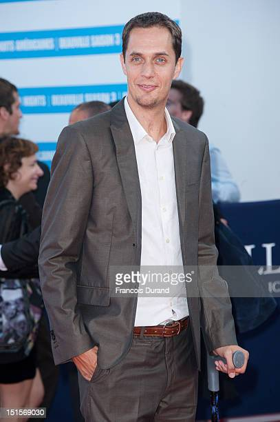 Fabien Marsaud arrives at the closing ceremony of the 38th Deauville American Film Festival on September 8 2012 in Deauville France