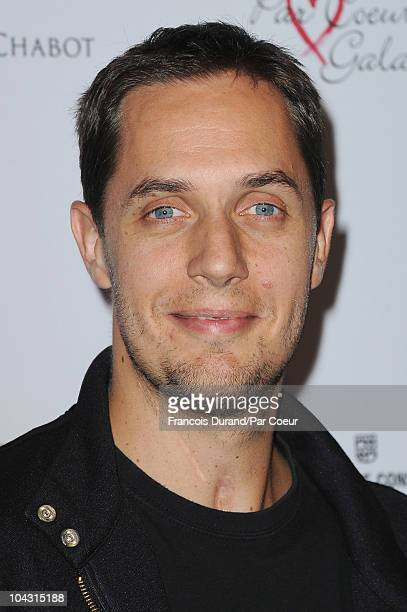Fabien Marsaud known as 'Grand Corps Malade' attends the Par Coeur Gala 2010 in collaboration with Georges Rech and Frederique Constant at Pavillon...