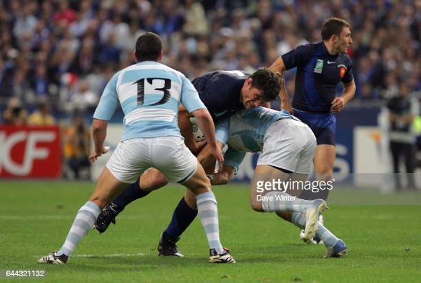 Fabien pelous photos et images de collection getty images - Coupe du monde de rugby en france 2007 ...