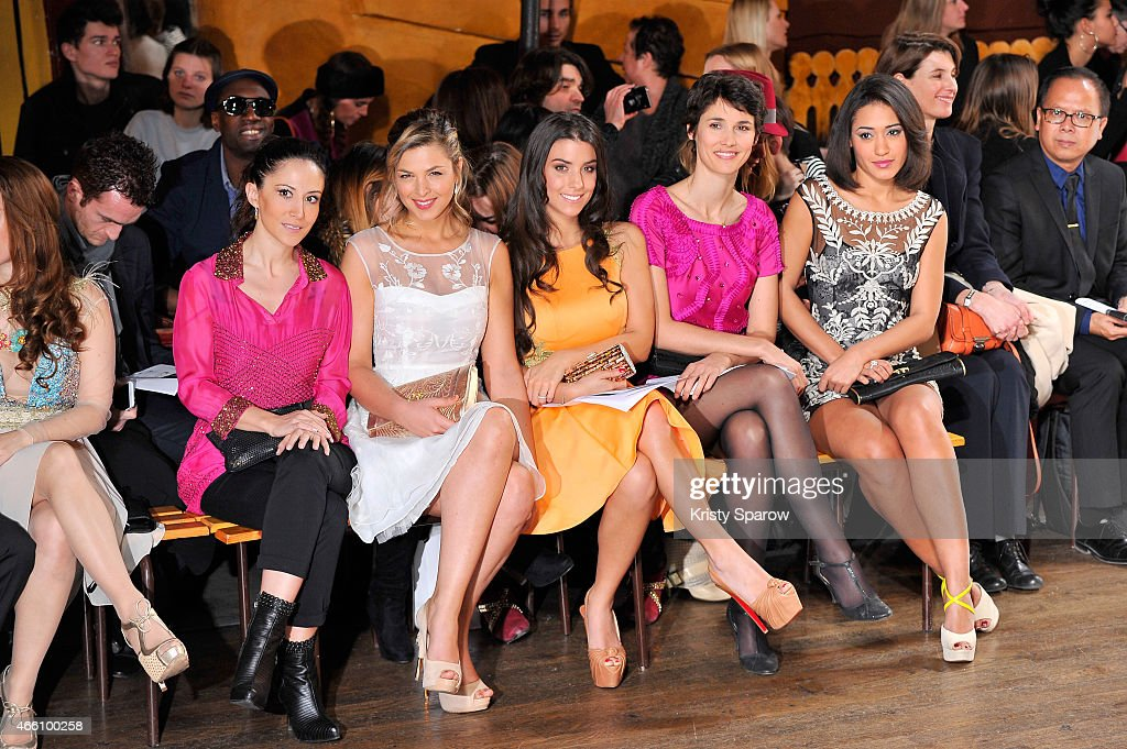 Christophe Guillarme : Front Row - Paris Fashion Week Womenswear Fall/Winter 2015/2016