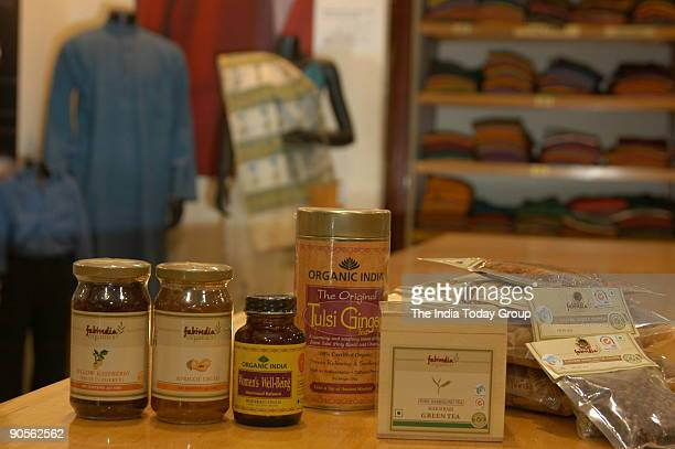 Fabindia Organic food products outlet in Chennai Tamil Nadu India