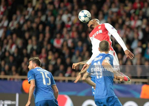 Fabinho during Champions League Semifinals match between Juventus v Monaco in Principality of Monaco on may 3 2017