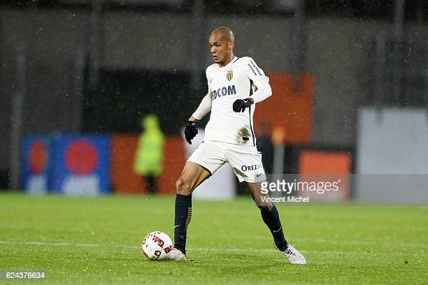 Fabinho Fabio Henrique Tavares of Monaco during the Ligue 1 match between Fc Lorient and As Monaco at Stade du Moustoir on November 18 2016 in...