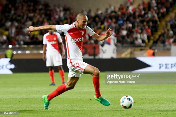 Fabinho of Monaco during the Ligue 1 match between As Monaco and AS Saint Etienne at Stade Louis II on May 17 2017 in Monaco Monaco