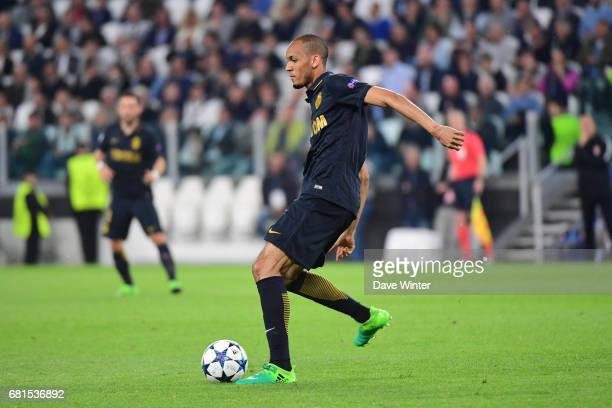 Fabinho of Monaco during the Uefa Champions League match semi final second leg between Juventus FC and As Monaco at Juventus Stadium on May 9 2017 in...