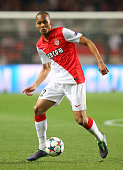 Fabinho of Monaco during the UEFA Champions League quarterfinal second leg match between AS Monaco FC and Juventus at Stade Louis II on April 22 2015...