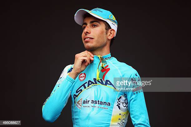 Fabio Aru of Italy and the Astana Pro Team finished 3rd the 2014 Giro d'Italia a 172km stage between Gemona del Friuli and Trieste on June 1 2014 in...