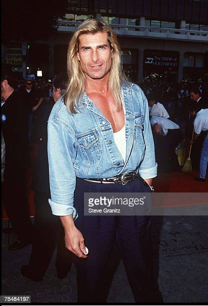 Fabio at the Mann's Chinese Theater in Hollywood California