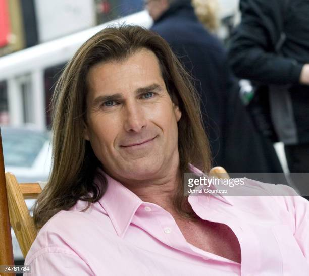 Fabio at the Military Island in Times Square in New York City New York