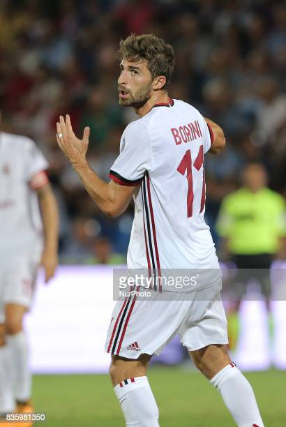 Fabio Borini during the Serie A match between FC Crotone and AC Milan on August 20 2017 in Crotone Italy