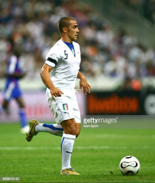 Fabio CANNAVARO France / Italie Eliminatoires Euro 2008