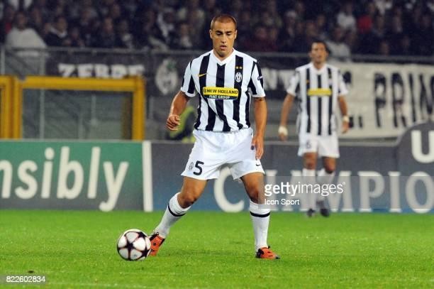 Fabio CANNAVARO Juventus / Bordeaux Championas League 2009/2010 Stadio Olimpico Turin