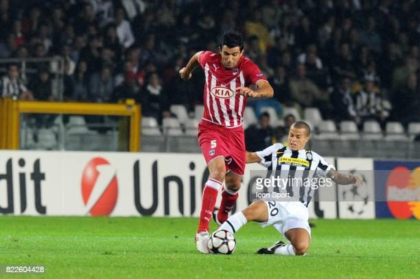 FERNANDO / Fabio CANNAVARO Juventus / Bordeaux Championas League 2009/2010 Stadio Olimpico Turin