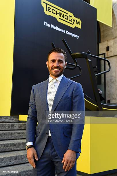 Fabio Cannavaro attends the Technogym Listing Ceremony at Palazzo Mezzanotte on May 3 2016 in Milan Italy Technogym is the world leader in the...