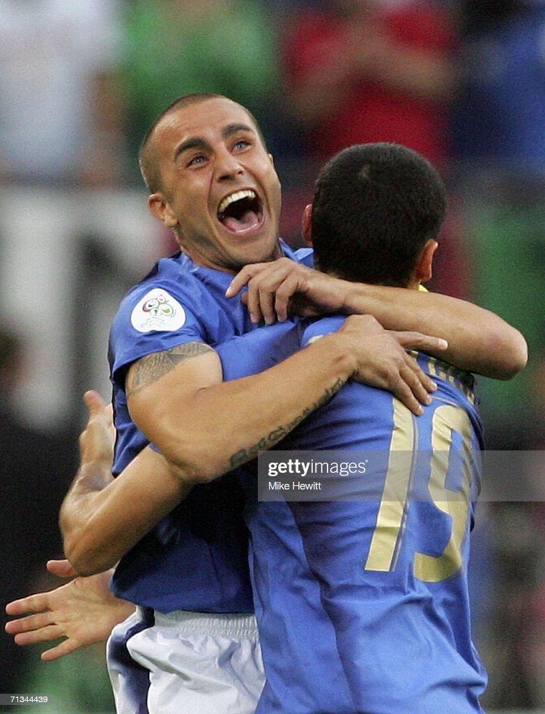 Quarter-final Italy v Ukraine - World Cup 2006