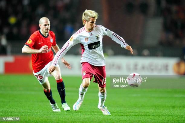 Fabio COENTRAO Paris Saint Germain / Benfica 1/8 Finale retour Europa League