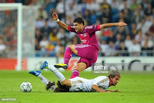 EDERSON / Fabio COENTRAO Real Madrid / Lyon Ligue des Champions Groupe D 3e journee Photo Dave Winter / Icon Sport