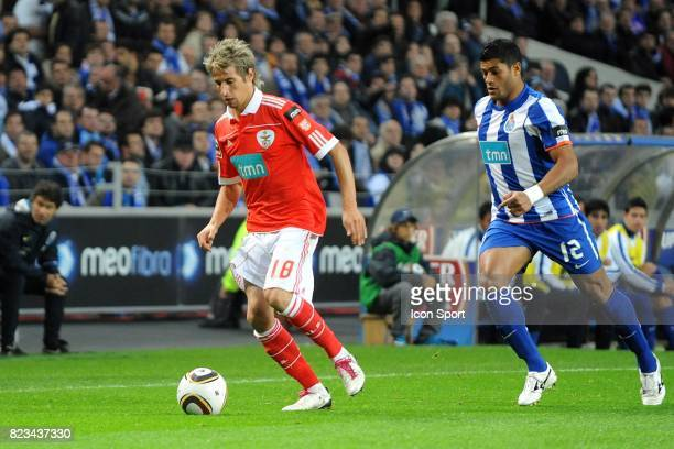 Fabio Coentrao / Hulk FC Porto / Benfica 10e Journee Championnat du Portugal