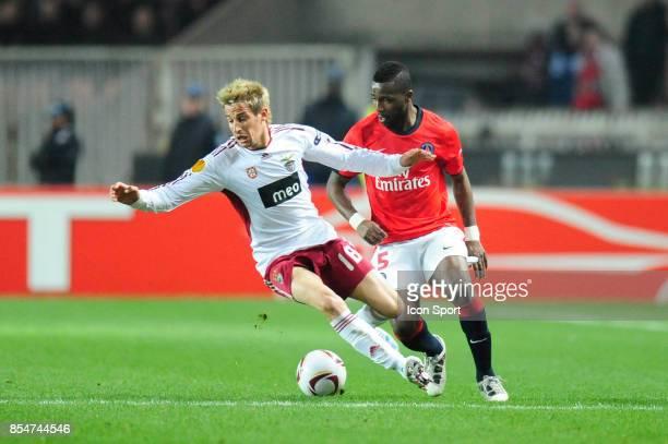 Fabio COENTRAO / Siaka TIENE Paris Saint Germain / Benfica 1/8 Finale retour Europa League