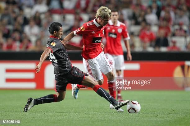 Fabio Coentrao / Vandinho Benfica / Braga 1/2 Finale Aller de la Ligue Europa 2011