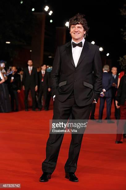 Fabio De Luigi attends the Rome Film Festival Opening and 'Soap Opera' Red Carpet during the 9th Rome Film Festival at Auditorium Parco Della Musica...