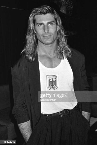 Fabio during Fabio at The Roxy 1990 at The Roxy in New York City New York United States