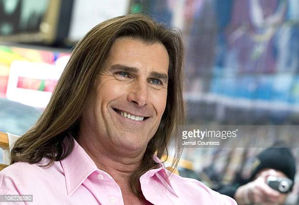 Fabio during Fabio Launches Contest to Win Ultimate Mediterranean Island Getaway at Military Island in Times Square in New York City New York United...
