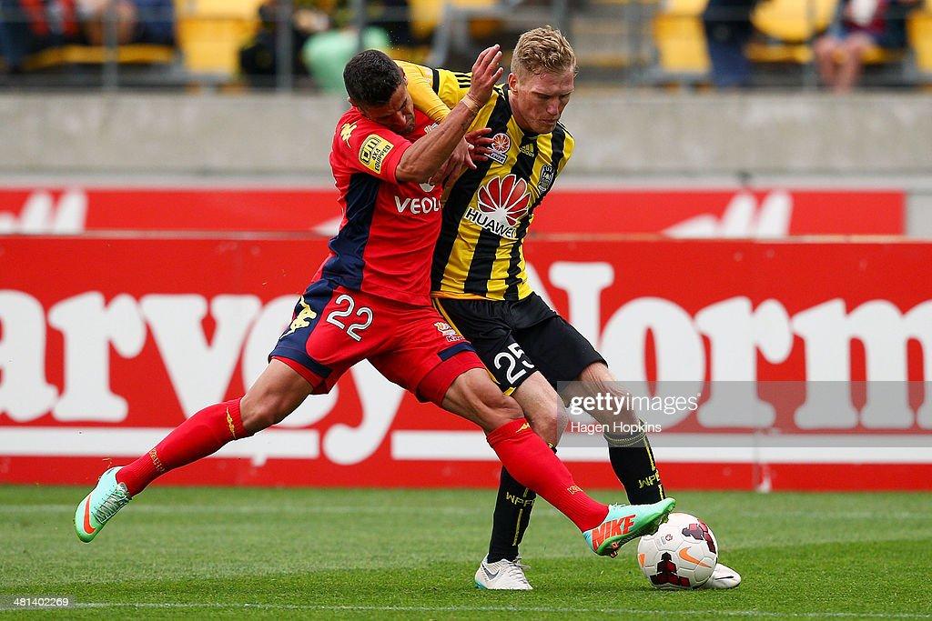 A-League Rd 25 - Wellington v Adelaide