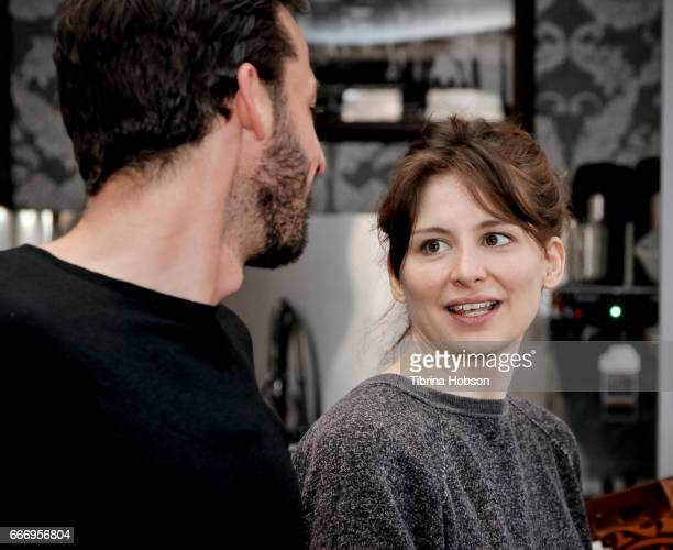 Fabio Friedli and Laura Beckner attend the filmmakers breakfast session at the 2017 Aspen Shortsfest on April 9 2017 at the Wheeler Opera House in...