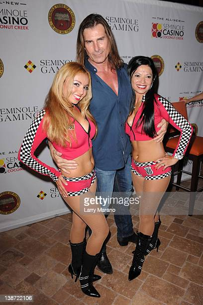 Fabio Lanzoni meets and greets fans at Sorrisi Italian Restaurant at Seminole Casino Coconut Creek on February 10 2012 in Coconut Creek Florida