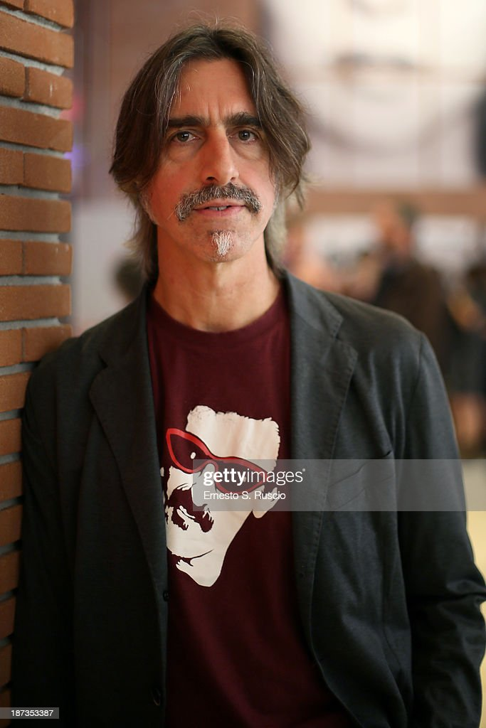 Fabio Lovino attends the Fabio Lovino Exhibition Opening during the 8th Rome Film Festival at the Auditorium Parco Della Musica on November 8, 2013 in Rome, Italy.