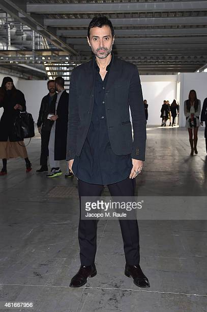 Fabio Novembre attends the Costume National Show during the Milan Menswear Fashion Week Fall Winter 2015/2016 on January 17 2015 in Milan Italy