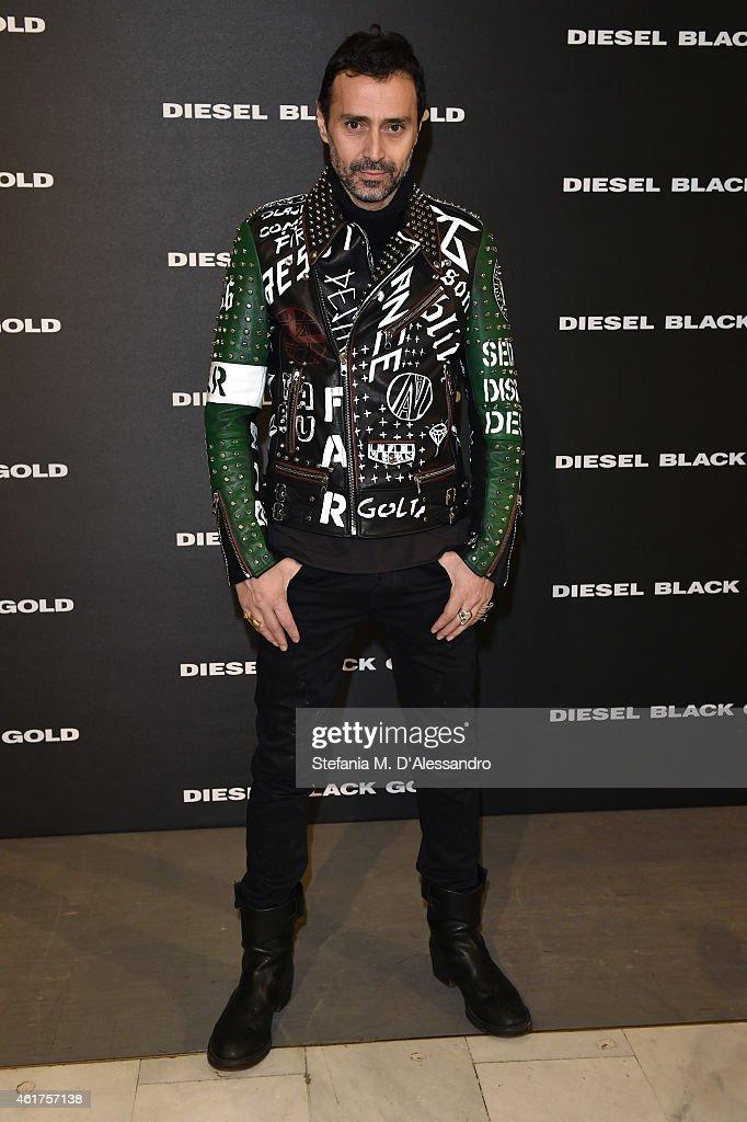 DIESEL BLACK GOLD - Front Row - Milan Menswear Fashion Week Fall Winter 2015/2016
