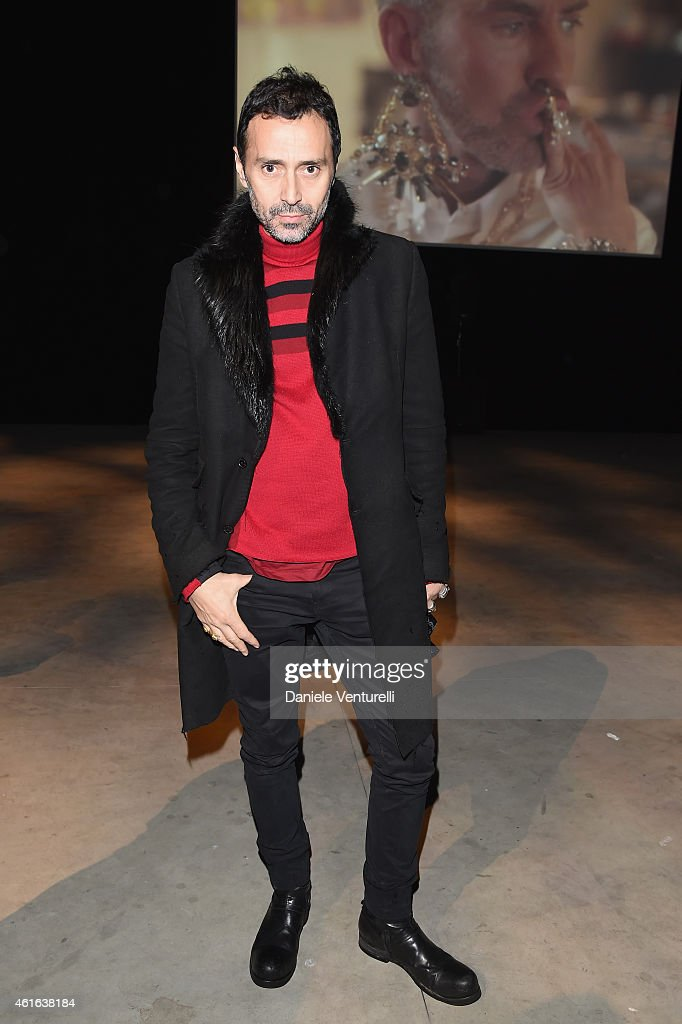DSQUARED2 SHOW - Front Row - Milan Menswear Fashion Week Fall Winter 2015/2016